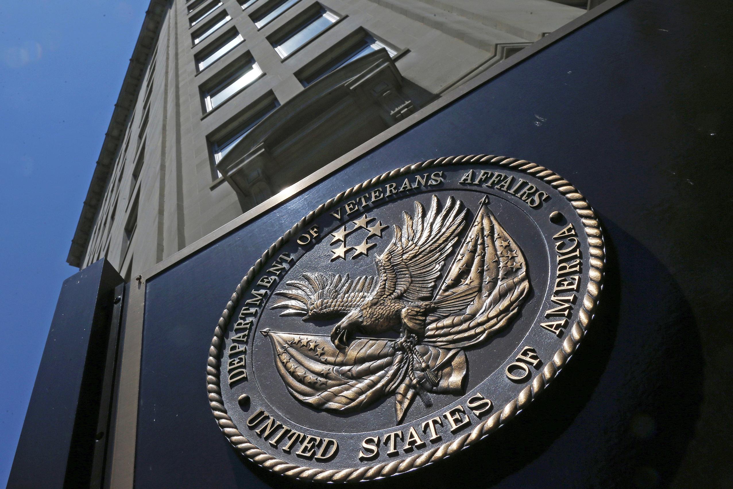 <p>The Department of Veterans Affairs building in Washington, D.C.</p>